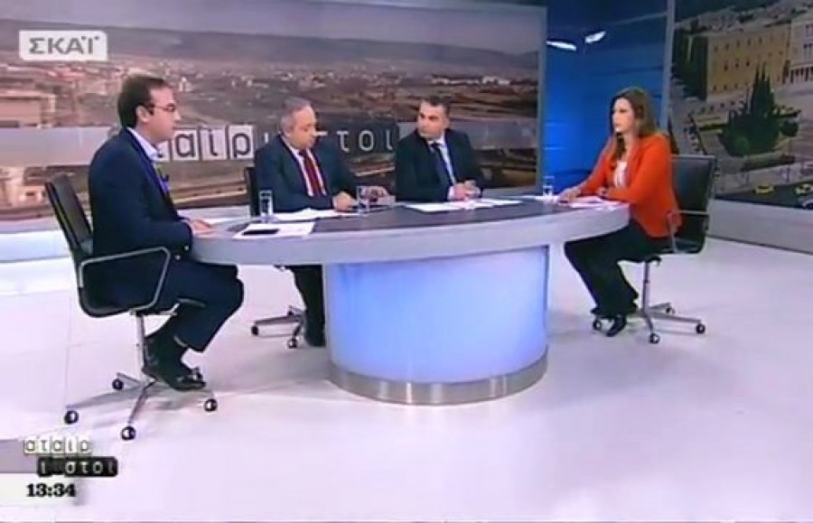 Ο Βασίλης Τσίρκας στην εκπομπή «Αταίριαστοι» (12-12-2017)
